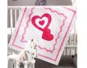 Baby Love Applique Quilt