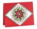 Pretty Poinsettia Card