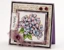 Hydrangea Thank You Card