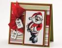 Jolly Santa Card