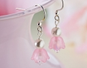 Sweet Pink Fairy Earrings