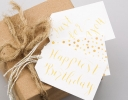 Gold Gift Tags