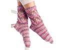Lace Trellis Socks