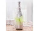 Upcycled Wine Bottle Decor