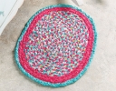 Braid & Sew Bubble Gum Mat