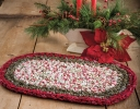 Crocheted Holiday Fun Centerpiece Mat