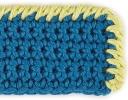 Reverse Single Crochet Edging