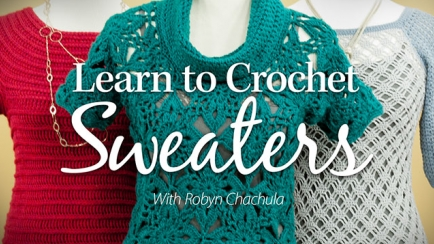 Crocheting Classes Online : Big feet, little feet! Learn how to crochet easy, beginner-level socks ...