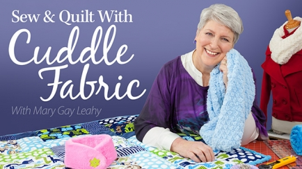 Sew & Quilt With Cuddle Fabric