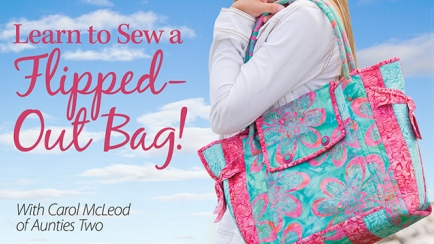 Learn to Sew a Flipped-Out Bag!