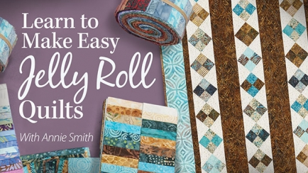 Learn to Make Easy Jelly Roll Quilts