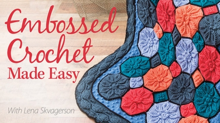 Embossed Crochet Made Easy