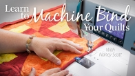 Learn to Machine Bind Your Quilts