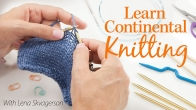 Learn Continental Knitting