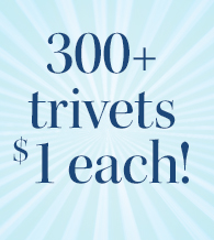$1, 2 days, 300+ trivet patterns!
