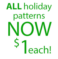 ALL Christmas Patterns $1