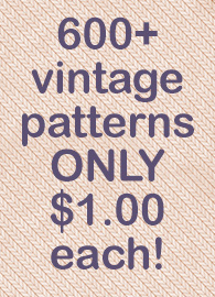 $1.00 Patterns From Granny's Closet
