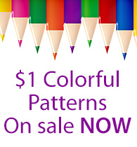 $1.00 Colorful Patterns