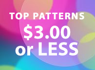 $3.00 or less patterns