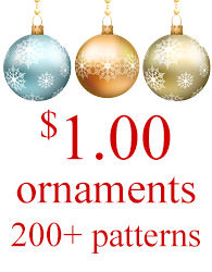 $1.00 Christmas Ornaments