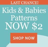 $2 Kid/Baby Patterns: urgency