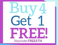 Buy 4 @ 2.50, Get 5th Free