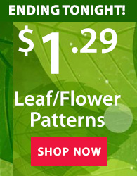$1.29 leaf & flower ENDING TONIGHT!