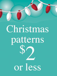 Christmas patterns $2 or less