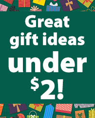 Great Gift Ideas Under $2