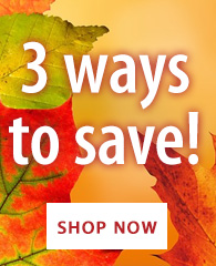3 Ways to Save!