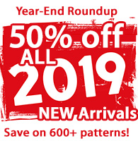 50% off all 2019 new arrivals
