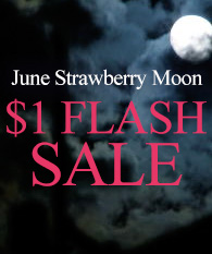 June Strawberry Moon $1 FLASH SALE