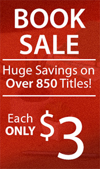 BOOK SALE Huge Savings on Over 850 Titles Each ONLY $3