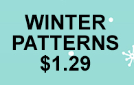 Winter Patterns $1.29