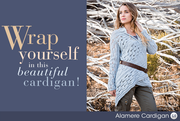 Wrap yourself in this beautiful cardigan!