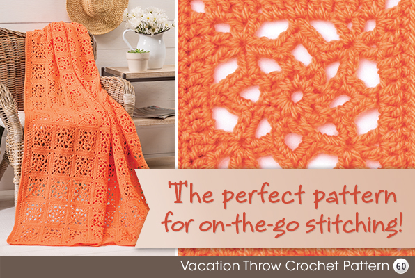 Vacation Throw Crochet Pattern