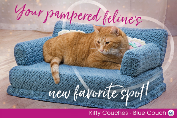 Kitty Couches - Blue Couch
