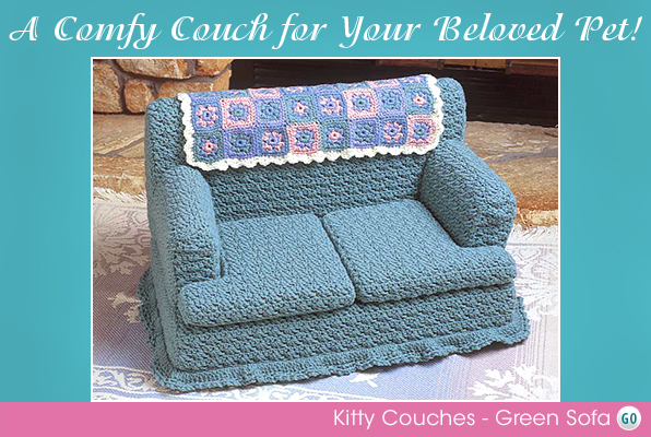 Kitty Couches - Green Sofa