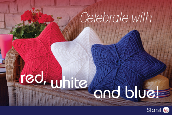 Celebrate with red, white and blue!