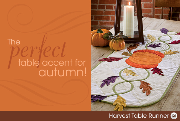 The perfect table accent for autumn!