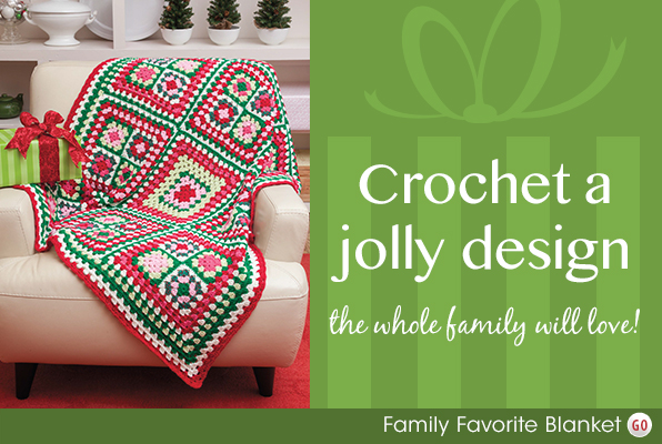 Crochet a jolly design the whole family will love!