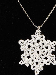 Snowflake Fantasy Necklace Pattern
