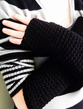 Extra Long Fingerless Gloves