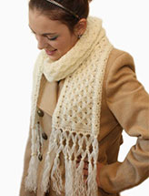 Honey Bee Scarf