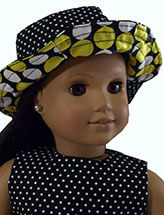 Reversible Doll Sun Hat