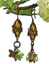 Beautiful Flight Earrings