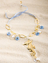 Seahorse by the Seaside Necklace