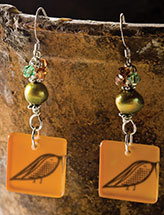 Autumn Takes Flight Earrings