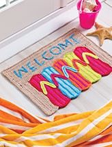 Flip-Flop Doormat