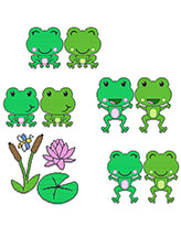 Friendly Frogs Decor